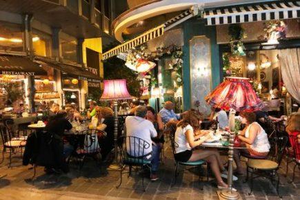 Diner in Athene