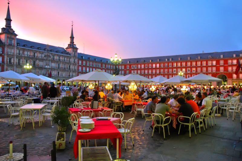 Madrid meivakantie