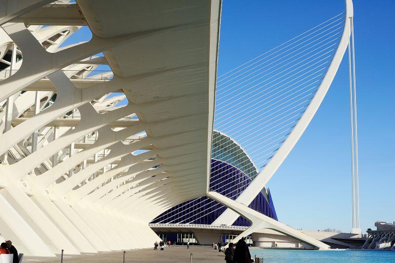Agora gebouw in Valencia