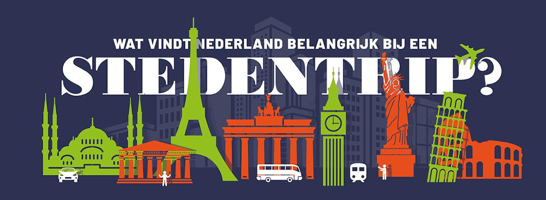 onderzoek wat vind nederland belangrijk bij stedentrip?