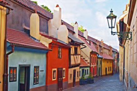 Kleine huisjes Praag